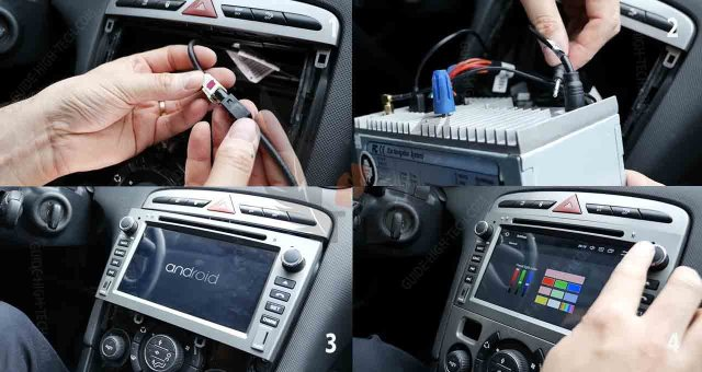 Installer un autoradio GPS